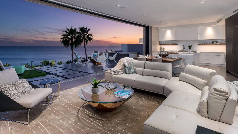 Blue Heron Homes Custom Living Room