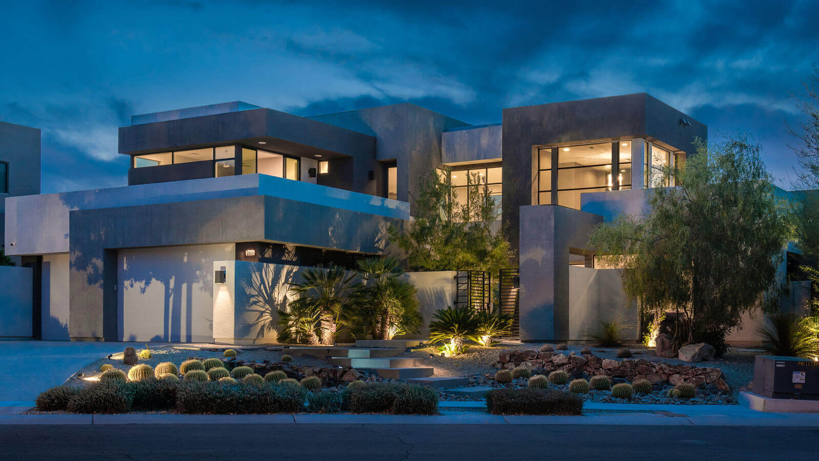 Blue Heron Homes Modern Exterior